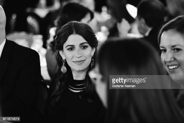 Amanda Alagem attends the Costume Designers Guild Awards at The Beverly Hilton Hotel on February 20 2018 in Beverly Hills California