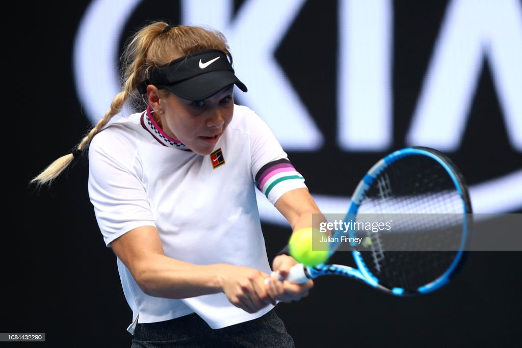 2019 Australian Open - Day 5 : News Photo