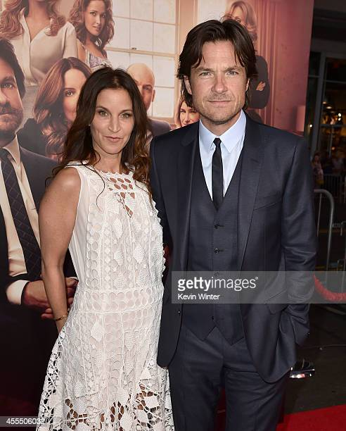 Amanda Anka and actor Jason Bateman arrive at the premiere of Warner Bros Pictures' This Is Where I Leave You at TCL Chinese Theatre on September 15...