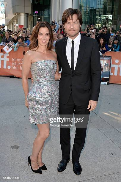 Amanda Anka and actor Jason Bateman attend the This Is Where I Leave You premiere during the 2014 Toronto International Film Festival at Roy Thomson...