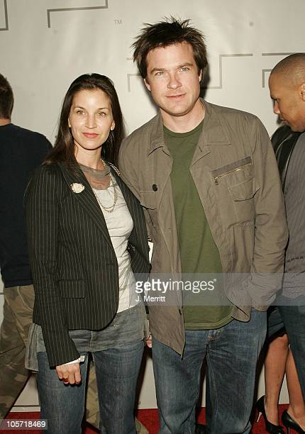 Amanda Anka and Jason Bateman during PSP North American Launch Party and Fashion Show at The Pacific Design Center in West Hollywood California...