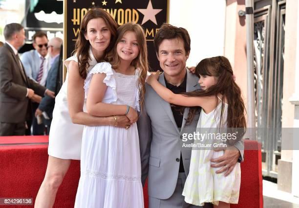 Amanda Anka Francesca Bateman Jason Bateman and Maple Bateman attend the ceremony honoring Jason Bateman with Star on the Hollywood Walk of Fame on...