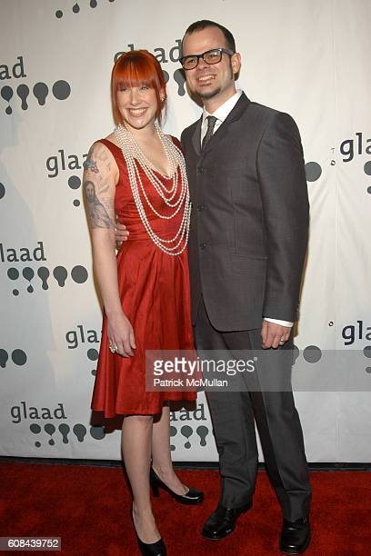Amanda Bakker and Rev Jay Bakker attend 18th Annual GLAAD Media Awards at Marriott Marquis on March 26 2007 in New York City