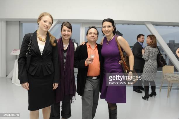 Amanda Baldwin Melanie StAmour Alex Golimbu and Shenan Reed attend ARTNET hosts NEW MUSEUM'S THE GENERATIONAL YOUNGER THAN JESUS EXHIBIT at 235...
