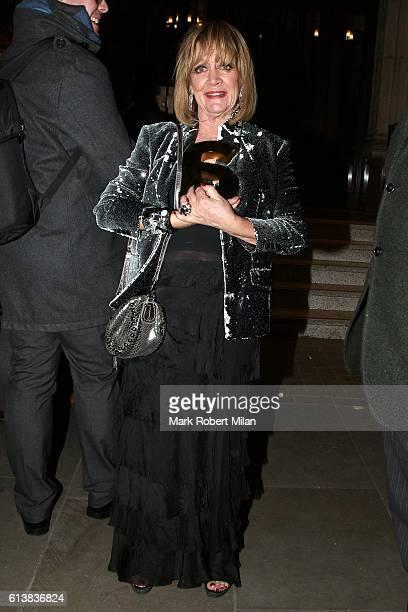 Amanda Barrie attending the Attitude magazine awards on October 10 2016 in London England