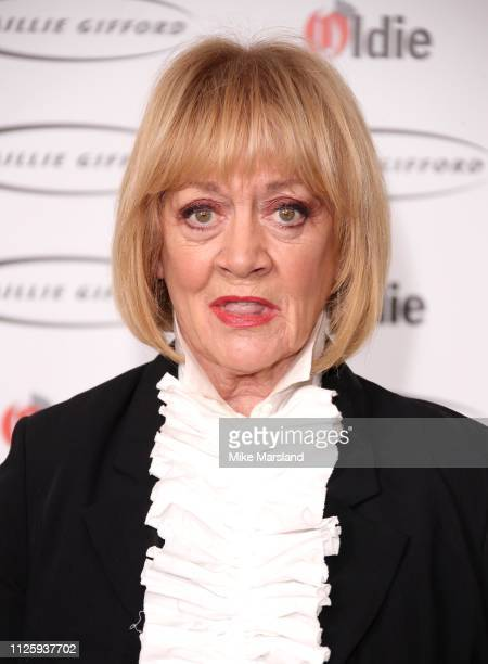 Amanda Barrie attends the 2019 'The Oldie of the Year Awards' held at Simpson's In The Strand on January 29 2019 in London England