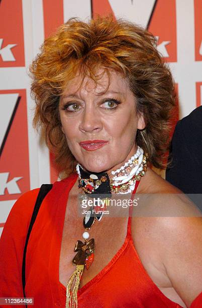 Amanda Barrie during 2004 TV Quick Soap Awards Arrivals at Dorchester Hotel in London Great Britain