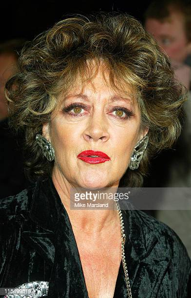 Amanda Barrie during National TV Awards Party Of The Year Arrivals at Royal Opera House WC2 in London Great Britain