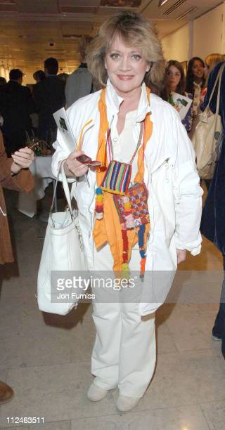 Amanda Barrie during Protect the Human Private View May 31 2006 at The Hospital in London Great Britain