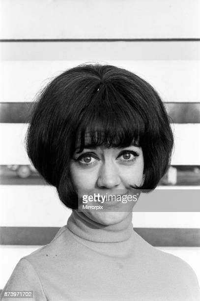 Amanda Barrie rehearsing at ATV studios Elstree She is currently recording a new series called 'It's Tarbuck' 11th November 1964
