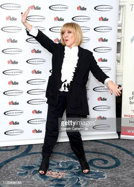 Amanda Barrie winner of the Keep Calm and Carry On award at The Oldie of the Year Awards held at Simpson's In The Strand on January 29 2019 in London...