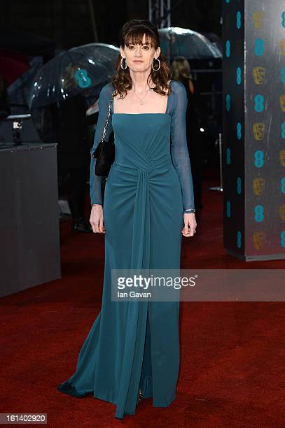 Amanda Barry attends the EE British Academy Film Awards at The Royal Opera House on February 10 2013 in London England