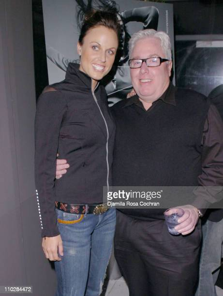Amanda Beard and Roger Williams during W Magazine Celebrates the Launch of the 2006 Speedo Ad Campaign at Gansevoort Hotel in New York New York