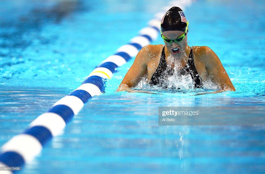 2012 U.S. Olympic Swimming Team Trials - Day 5 : News Photo