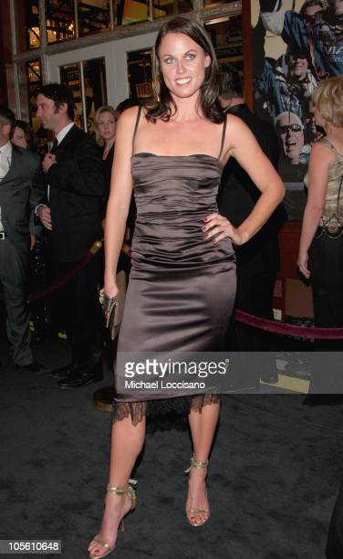 Amanda Beard during NASCAR NEXTEL Cup Series Awards Ceremony December 2 2005 at The WaldorfAstoria in New York City New York United States