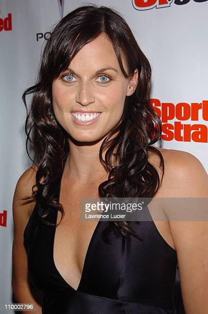 Amanda Beard during Sports Illustrated 2005 Swimsuit Issue Press Conference at AER Lounge in New York City New York United States
