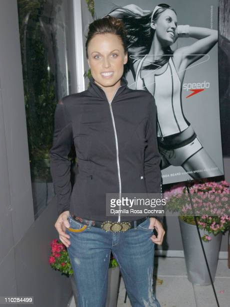 Amanda Beard during W Magazine Celebrates the Launch of the 2006 Speedo Ad Campaign at Gansevoort Hotel in New York New York