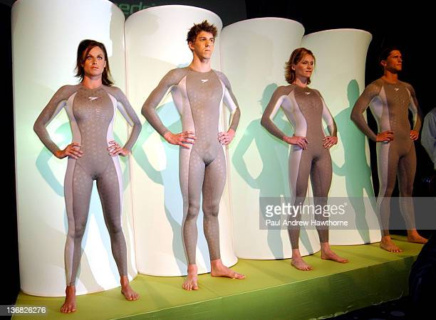 Amanda Beard Michael Phelps Jenny Thompson and Lenny Krayzelburg