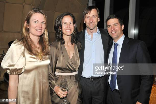 Amanda Benchley Olivia Douglas David DeDomenico and Clayton Benchley attend ART PRODUCTION FUND Birthday Benefit at On Top of the Standard on April...