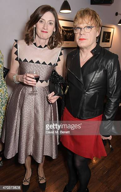 Amanda Berry and Eddie Izzard attend The Old Vic for A Gala Celebration in Honour of Kevin Spacey as the artistic director's tenure comes to an end...