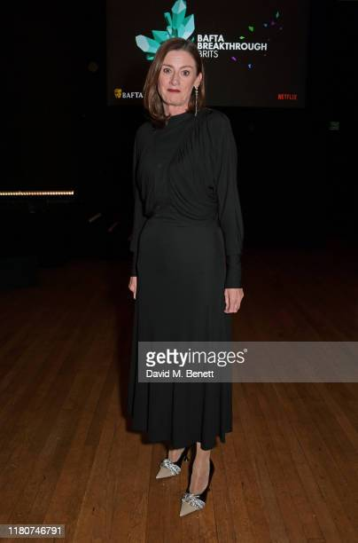 Amanda Berry attends the BAFTA Breakthrough Brits celebration event in partnership with Netflix at Banqueting House on November 7 2019 in London...