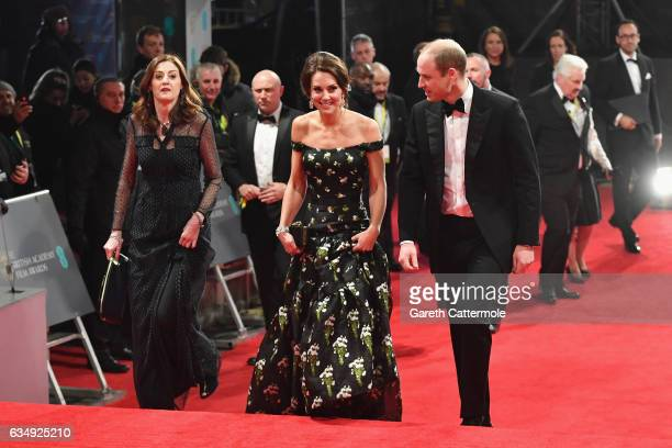 Amanda Berry Catherine Duchess of Cambridge and Prince William Duke of Cambridge attend the 70th EE British Academy Film Awards at Royal Albert Hall...