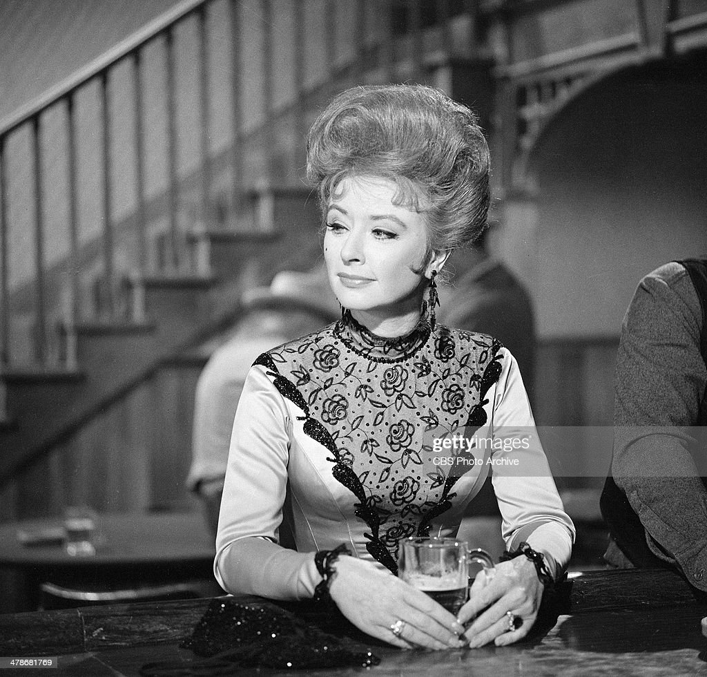 Amanda Blake as Kitty Russell on the GUNSMOKE episode