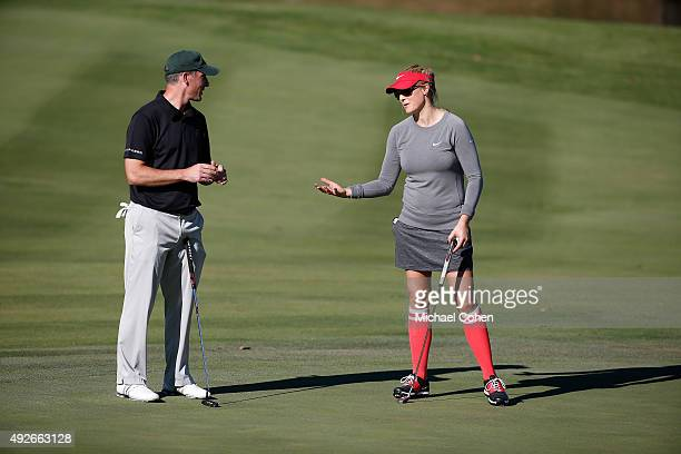 Amanda Blumenherst during the Berenberg Gary Player Invitational ProAm held at GlenArbor Golf Club on October 12 2015 in Bedford Hills New York