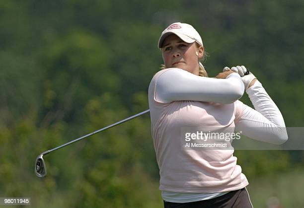Amanda Blumenherst during the first round at Newport Country Club site of the 2006 U S Women's Open in Newport Rhode Island June 30 2006