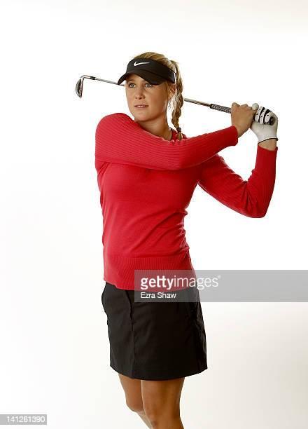 Amanda Blumenherst poses for a portrait at the JW Marriott Phoenix Desert Ridge Resort Spa on March 13 2012 in Phoenix Arizona