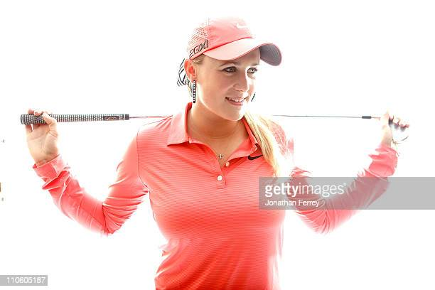 Amanda Blumenherst poses for a portrait on March 22 2011 at the Industry Hills Golf Club in the City of Industry California