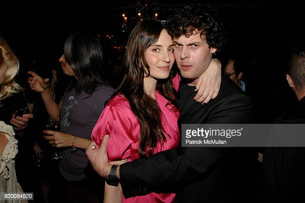 Amanda Braun and Blake Leibel attend NICOLAS BERGGRUEN's Annual Party at Chateau Marmont at Chateau Marmont on February 20 2008 in Los Angeles CA