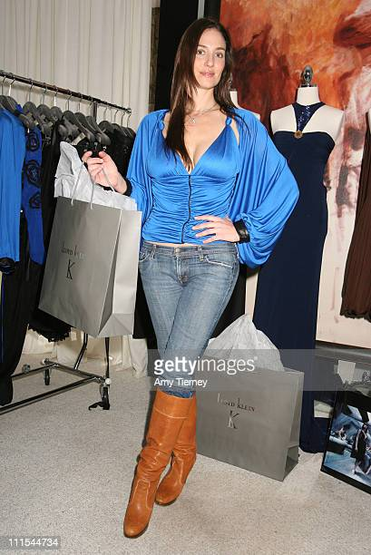 Amanda Braun of Lloyd Klein during Primary Action's Liberace 2007 Oscar Suite Day 2 at Liberace Penthouse in Beverly Hills California United States