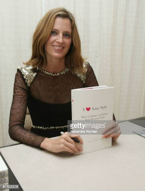 Amanda Brooks at her book signing at Chanel Boutique on September 23 2009 in Beverly Hills California