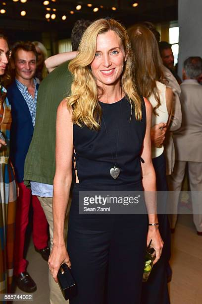 Amanda Brooks attends Amy Astley Celebrates the September Style Issue of Architectural Digest at Spring Place on August 2 2016 in New York City