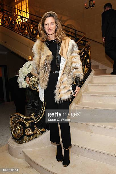 Amanda Brooks attends day two of themiumiulondon a temporary women's club at Cafe Royal on November 28 2012 in London England