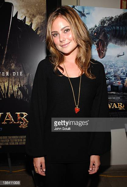 Amanda Brooks during Younggu and Showbox Art Presents Special Screening of 'DWars' at Paramount Theatre in West Hollywood California United States