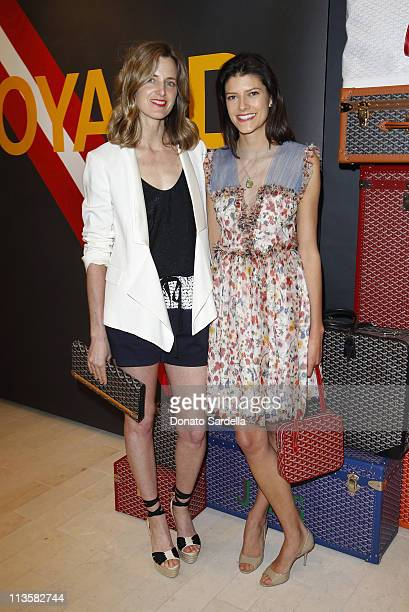 Amanda Brooks of Barneys New York and Lawren Howell of Vogue Magazine attend Barneys New York And Vogue Lunch To Celebrate Goyard Hosted By Amanda...