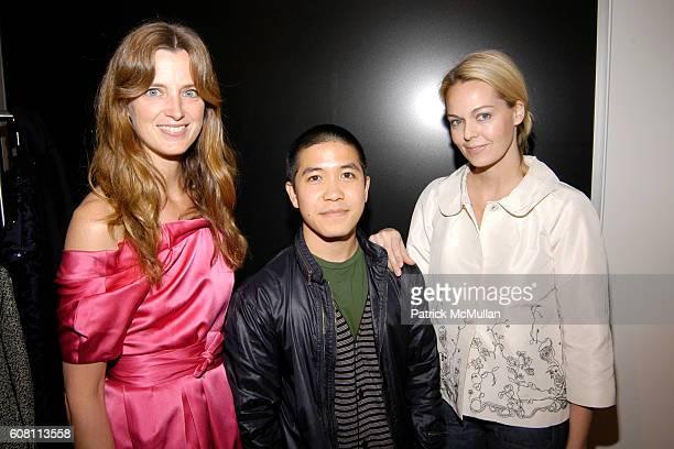 Amanda Brooks Thakoon Panichgul and Lauren DuPont attend LAUREN DUPONT AMANDA BROOKS Host THAKOON PANICHGUL'S FALL 2007 COLLECTION at Bergdorf...