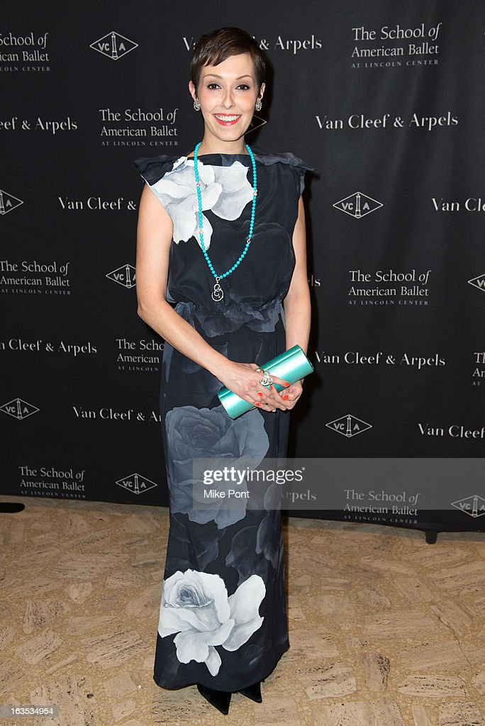 Amanda Brotman attends the School of American Ballet 2013 Winter Ball at David H. Koch Theater, Lincoln Center on March 11, 2013 in New York City.
