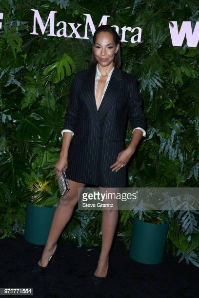 Amanda Brugel attends Max Mara WIF Face Of The Future at Chateau Marmont on June 12 2018 in Los Angeles California