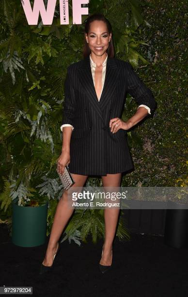 Amanda Brugel attends Max Mara Women In Film Face of the Future at Chateau Marmont on June 12 2018 in Los Angeles California