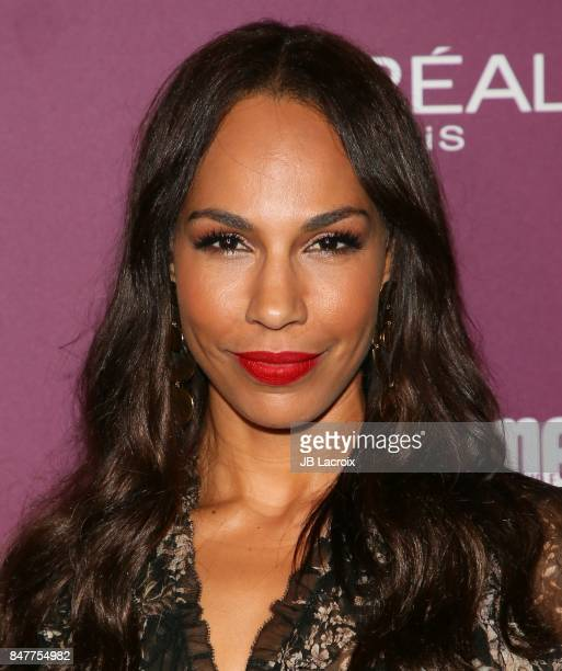 Amanda Brugel attends the 2017 Entertainment Weekly PreEmmy Party at Sunset Tower on September 15 2017 in West Hollywood California