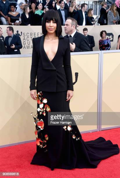 Amanda Brugel attends the 24th Annual Screen ActorsGuild Awards at The Shrine Auditorium on January 21 2018 in Los Angeles California