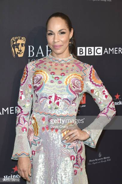 Amanda Brugel attends The BAFTA Los Angeles Tea Party Arrivals at Four Seasons Hotel Los Angeles at Beverly Hills on January 6 2018 in Los Angeles...