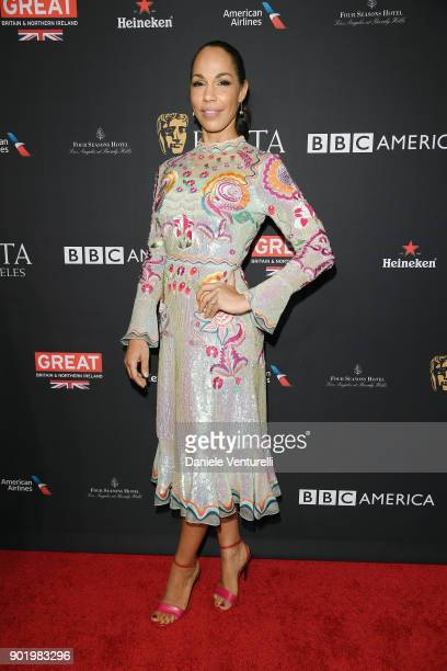 Amanda Brugel attends The BAFTA Los Angeles Tea Party at Four Seasons Hotel Los Angeles at Beverly Hills on January 6 2018 in Los Angeles California