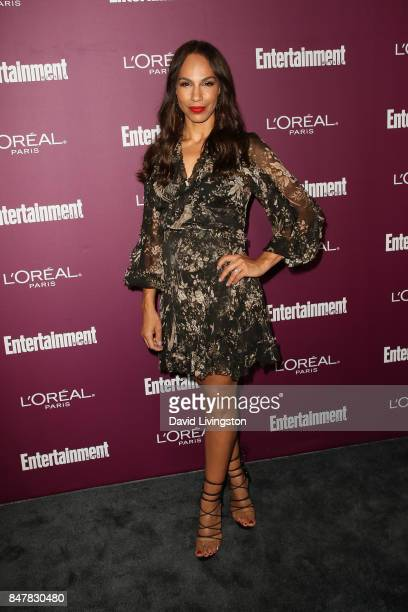 Amanda Brugel attends the Entertainment Weekly's 2017 PreEmmy Party at the Sunset Tower Hotel on September 15 2017 in West Hollywood California