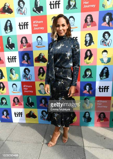 Amanda Brugel attends the Share Her Journey Rally during 2018 Toronto International Film Festival on September 8, 2018 in Toronto, Canada.