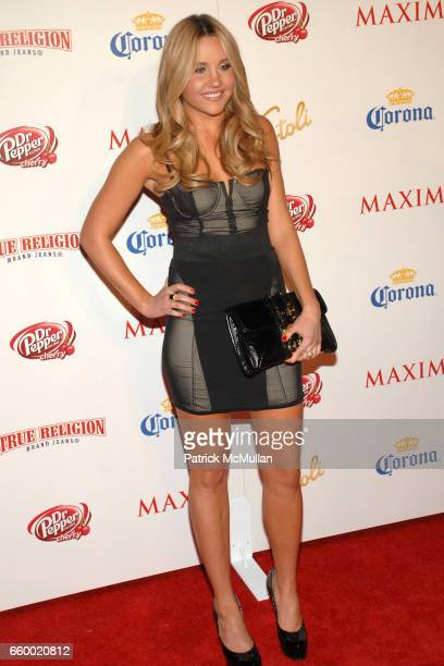Amanda Bynes attends Maxim's 10th Annual Hot 100 Celebration at The Barker Hangar on May 13 2009 in Santa Monica California