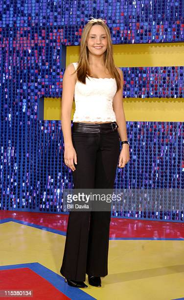 Amanda Bynes during 2003 MTV Movie Awards Arrivals at The Shrine Auditorium in Los Angeles California United States